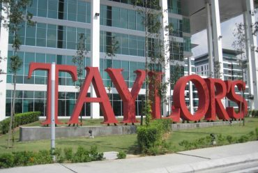 Tuyển Sinh học bổng du học Malaysia trường ĐH Taylor's